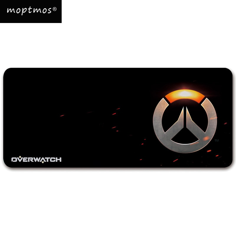 Overwatch Gaming Mouse Pad - Anti-Slip Professional-Grade Mat Large Size Speed Surface