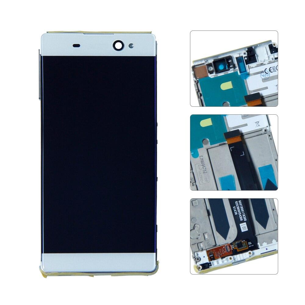 6For Sony Xperia XA Ultra C6 F3211 F3212 pantalla LCD Digitalizador de pantalla táctil montaje completo con marco