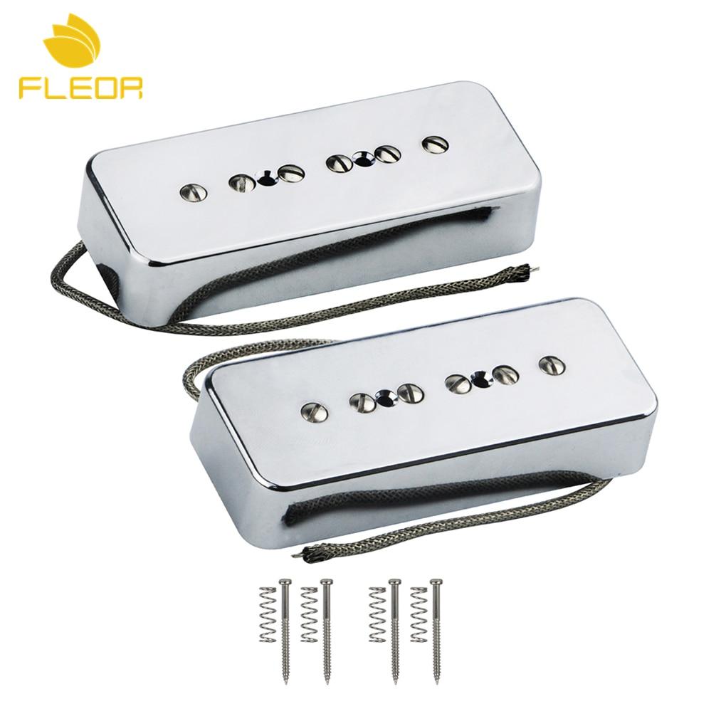 Набор для мыла для шеи и мостов P 90 P90 Pickup Alnico 5, электрогитара, затактовый звукосниматель с одной катушкой гитарные комплектующие из хрома