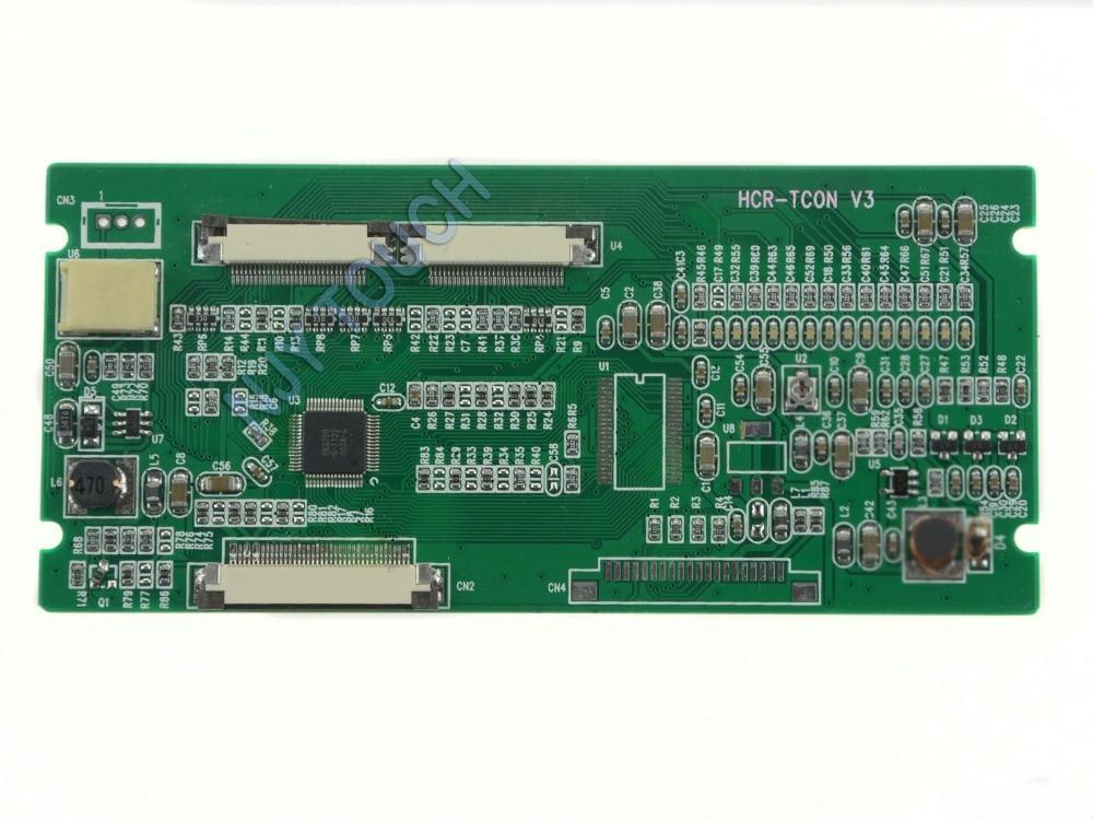"HCR-TCON V3 TCON Junta 40 Dual 30 convertidor de PIN para INNOLUX 7 ""8"" 10,2 ""TTL Panel envío gratis"