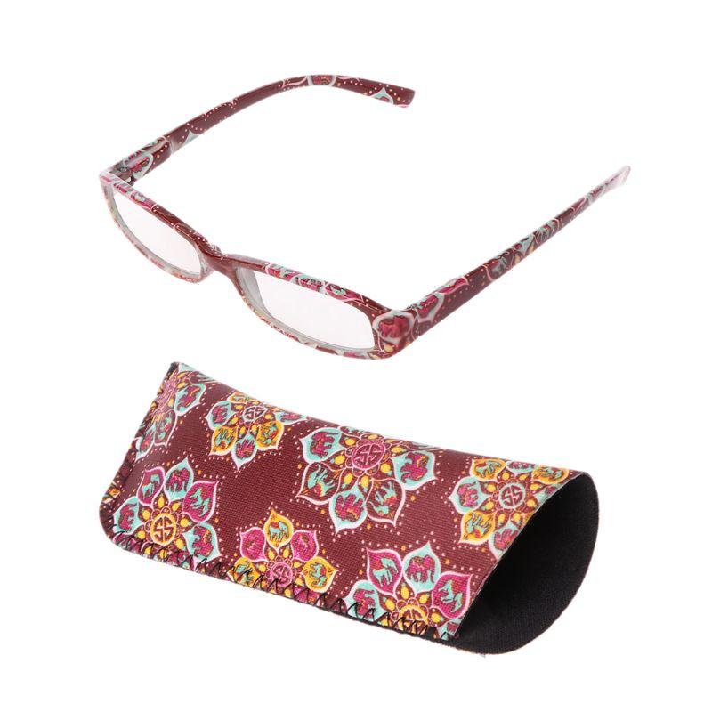 Vintage feminino unissex óculos de leitura presbiopia leitores retangular moldura lente clara + 1.0 a 4.0