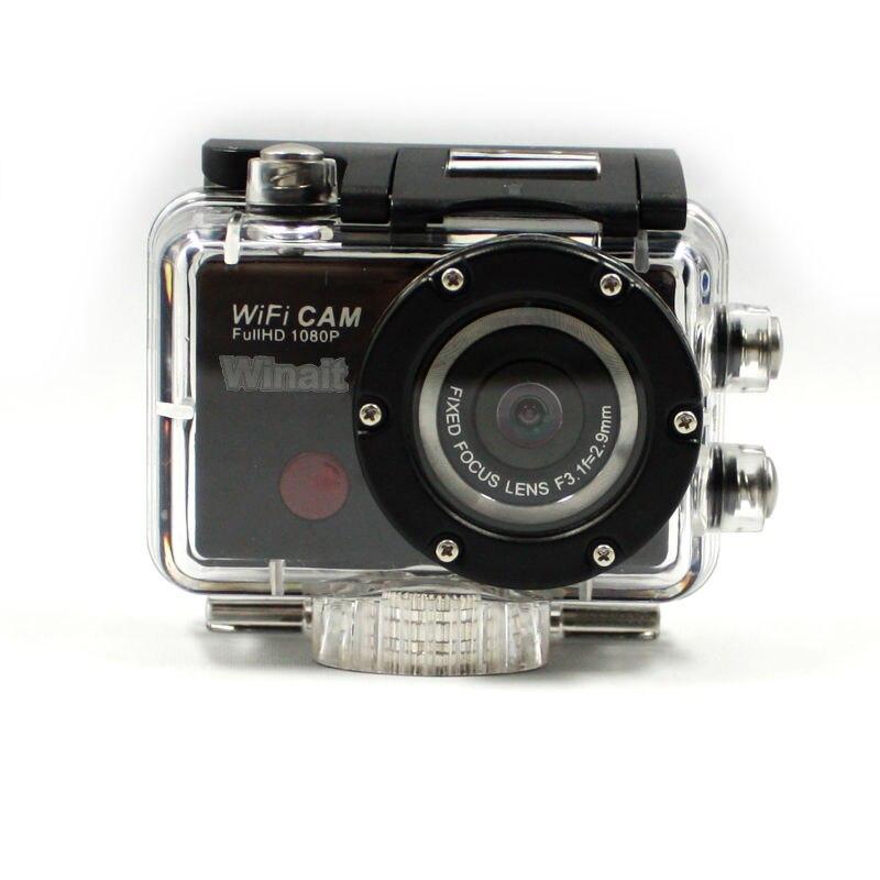 Winait كامل hd 1080p واي فاي عمل كاميرا مقاوم للماء الرياضة كاميرا فيديو رقمية مسجل فيديو رقمي صغير شحن مجاني
