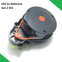 Neue Original Roboter-staubsauger Ersatzteile Laser Abstand Sensor LDS für XIAOMI Roborock S55 Gen 2 Dark Grau