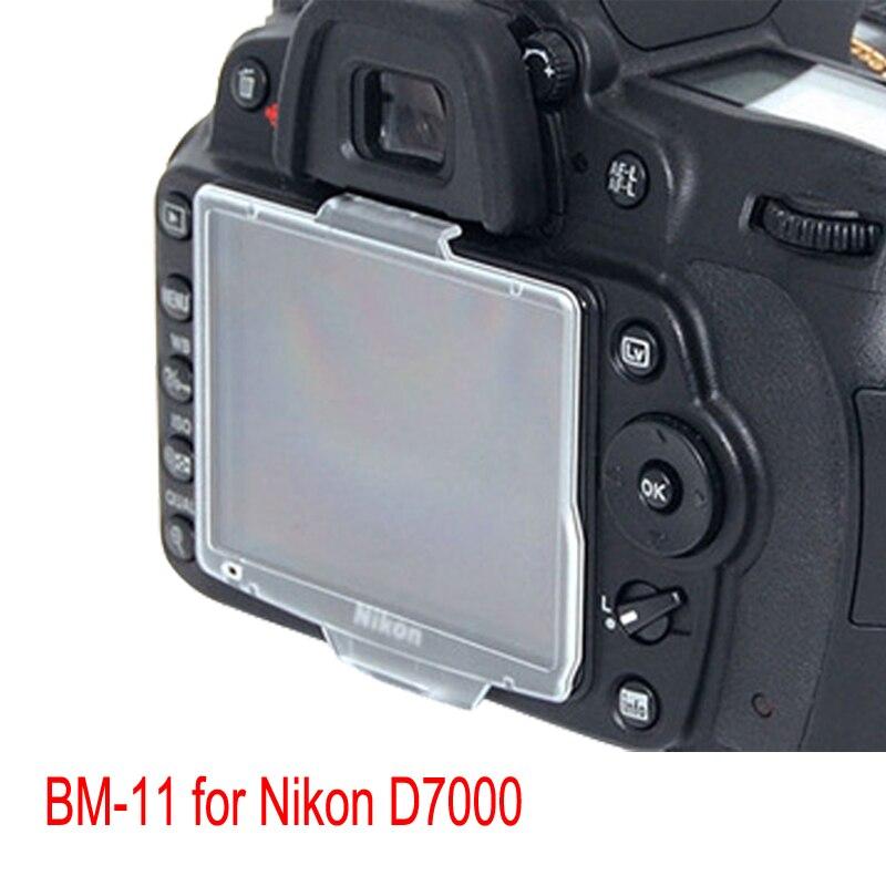 BON CREATION абсолютно новый жесткий ЖК-монитор Защитная крышка экрана для Nikon D7000 BM-11 BM11
