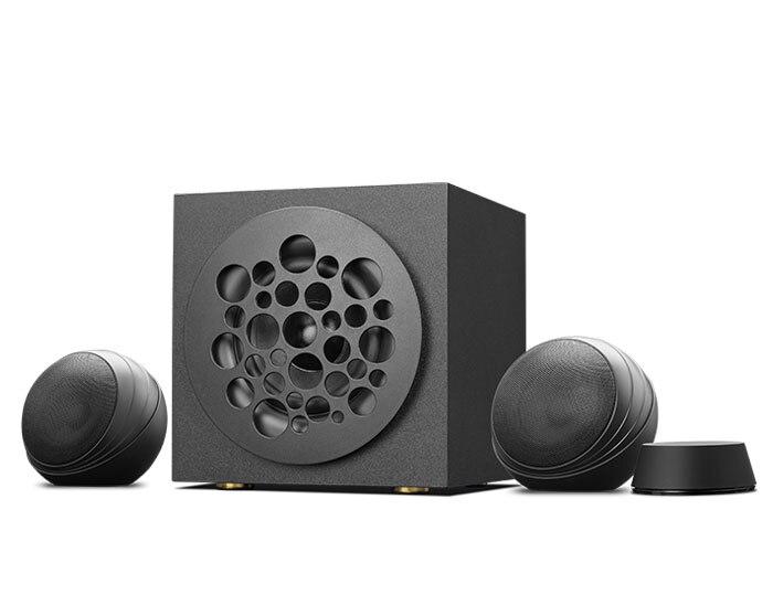 Hivi swans s500 multimídia alto-falante ativo 2.1 canal bluetooth sem fio 5 polegada profissional subwoofer 18w