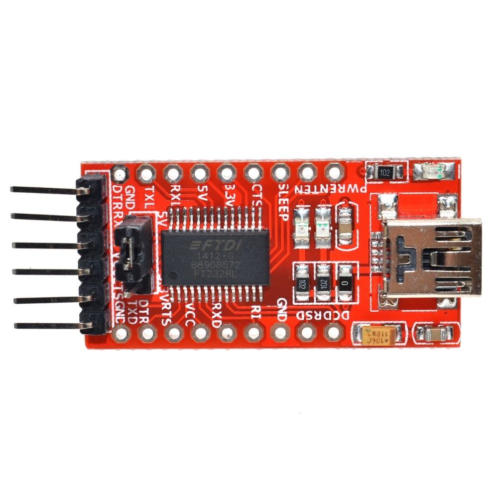 Free Shipping FT232RL FTDI USB 3.3V 5.5V to TTL Serial Adapter Module .Buy a good quality!Please choose me