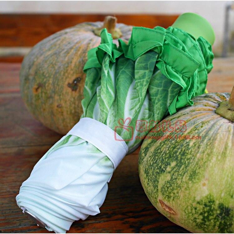Креативный Зонтик Модный Свежий симулятор капустный салат зонтик фрукты и овощи детские зонтики