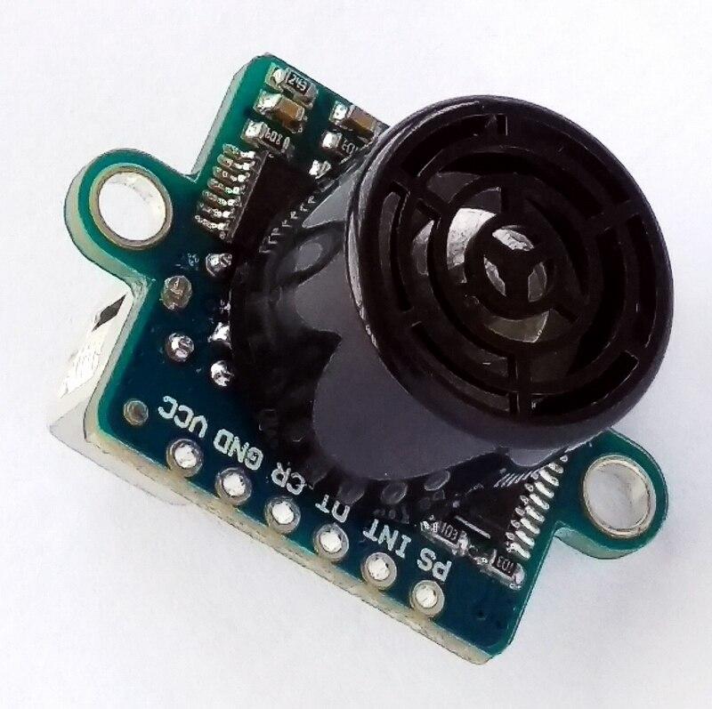 2 uds. Para GY-US42 i2c para Pixhawk APM Control de vuelo ultrasónico distancia módulo de medición reemplazar MB1242 40 SRF02 ultrasónico