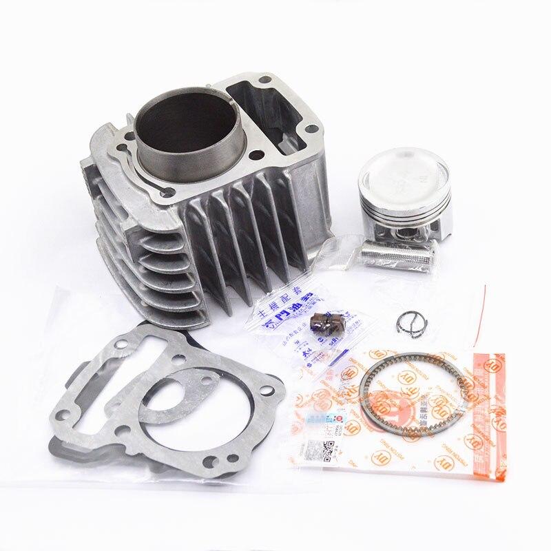 Kit de junta de anillo de pistón de cilindro de motocicleta para Honda DREAM 110 EX5 NBC110 NBC 110 carburador Fule inyección