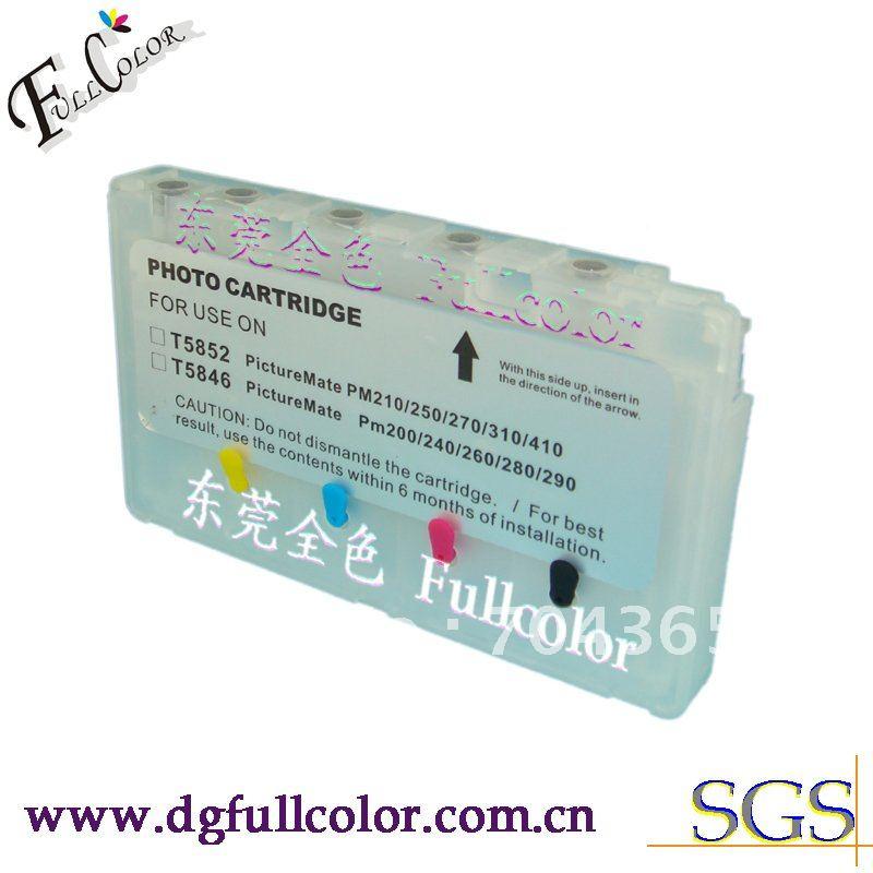 Envío Gratis 20 piezas mucho foto cartucho T5846 cartucho de tinta para Epson PM200 PM225 PM240 PM260 PM280 PM290 impresora