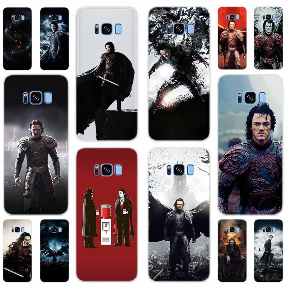 Dracula le vampire couverture souple pour Samsung Galaxy S6 S7 Edge S8 S9 S10 S11 S20 Plus E Note 10 coque de téléphone 5G