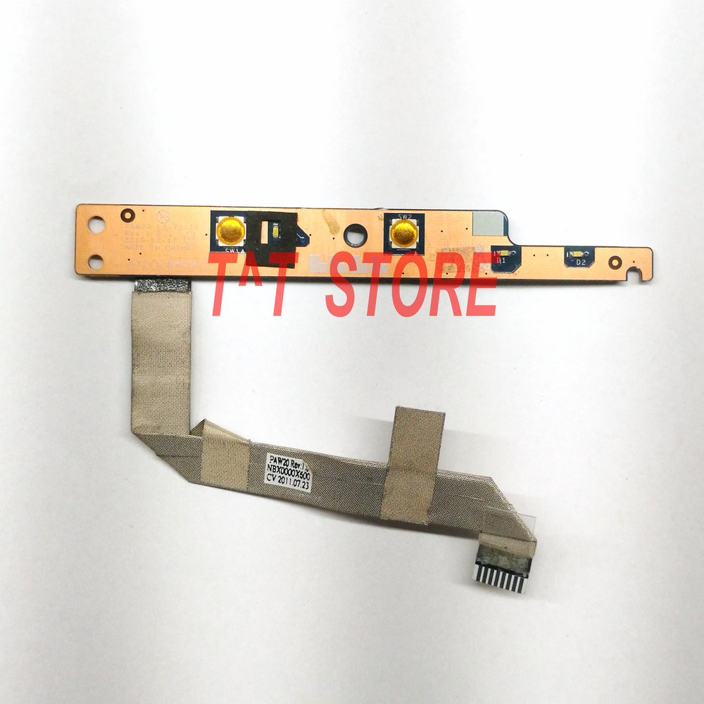NEW original brand For Lenovo G560 G560E Power Button Board with Cable LS-7012P work well free shipp