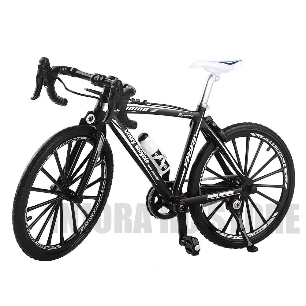 Mini Foldable Bike Mountain Bicycle Toys 1/10 RC Rock Crawler for Traxxas TRX4 Axial SCX10 90046 D90 RC Parts