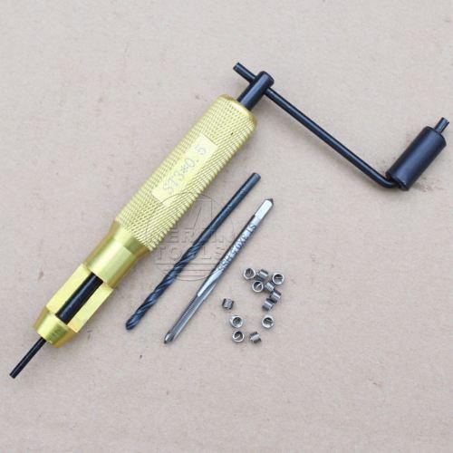 طقم إصلاح خيوط الملف M3 x 0.5 ، أداة حفر وحفر