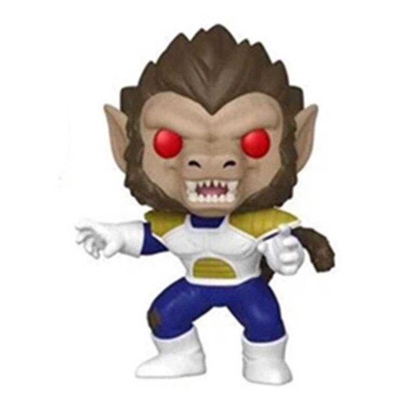 Amine Dragon Ball GOKU (ULTRA INSTINCT) figura de acción de vinilo juguetes de modelos coleccionables para niños regalo de cumpleaños