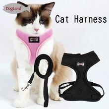 Komfort Haustier Katze Harness Sicherheit Walking Katze Weste Harness Mit Passenden Blei Leine 2 Farben