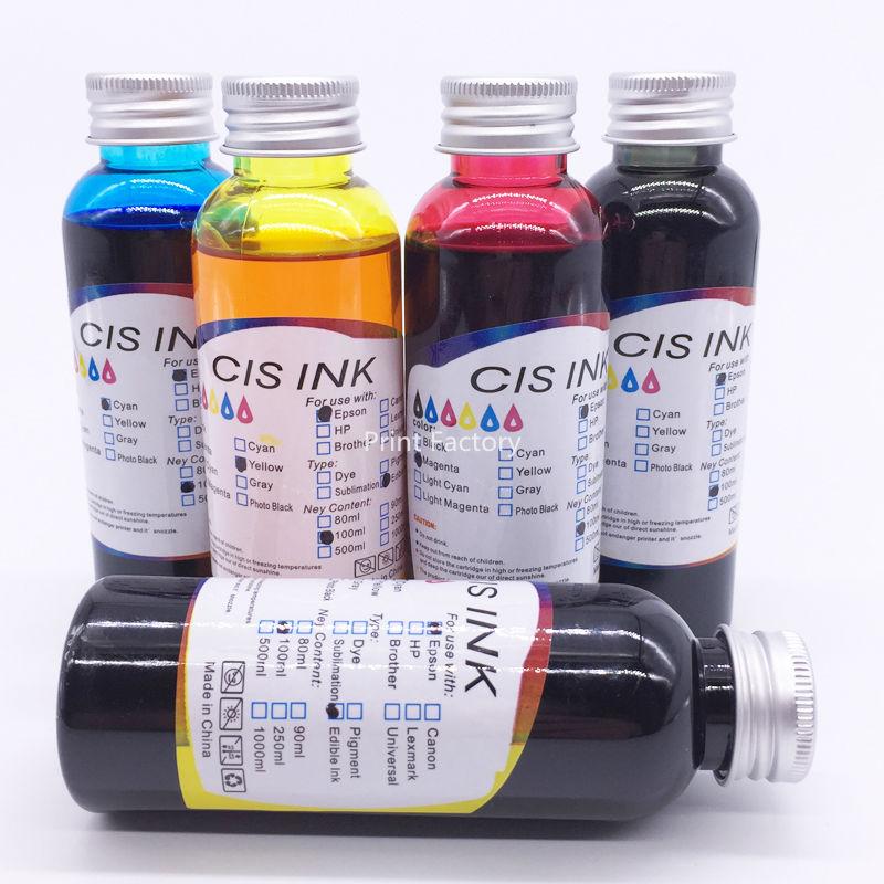 5 pcs pgi-250 cli-251/pgi250 cli251 mg5420 mx922 mx722 tinta comestível para canon ip7220 ip8720 mg5620 mg5520 mg6420 ix6820 mg6620