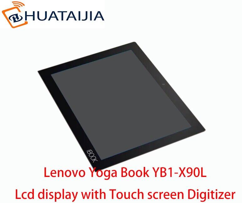 """100% nueva pantalla LCD Original para 10,1 """"Lenovo Yoga Book YB1-X90L YB1-X90F pantalla LCD con montaje de digitalizador con pantalla táctil"""