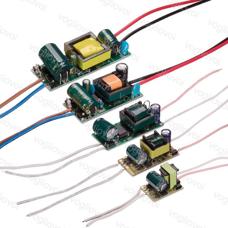 Volgliovoi conduziu o transformador 300ma ac110 ac220v ip20 1-3 w 4-7 w 8-12 w 13-18 w 18-24 w para o projector do bulbo do downlight construído no pwb do motorista
