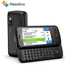 C6-00 Nokia débloqué original 3.2 pouces téléphone portable GSM 3G WIFI GPS 8MP téléphone 1 an de garantie livraison gratuite