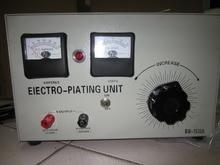 Machine de revêtement de placage de platine dargent dor, unité délectrodéposition, redresseur de revêtement de placage électrique de bijoux, outil dorfèvre