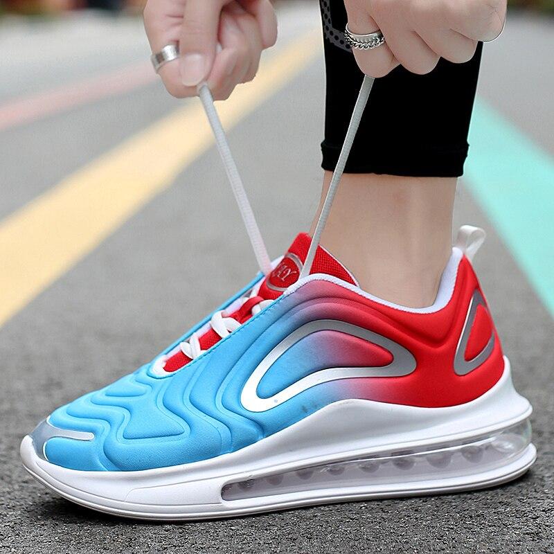 ARUONET Air Cushion, zapatillas deportivas transpirables de diseñador para hombre, zapatos deportivos informales para otoño de cuero, zapatos para caminar al aire libre, Scarpe Uomo