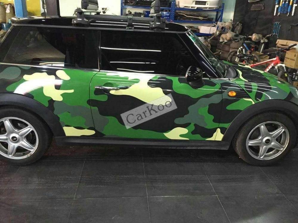 Camouflage custom car sticker bomb Camo Vinyl Wrap Car Wrap With Air Release snowflake bomb sticker Car Body Sticker