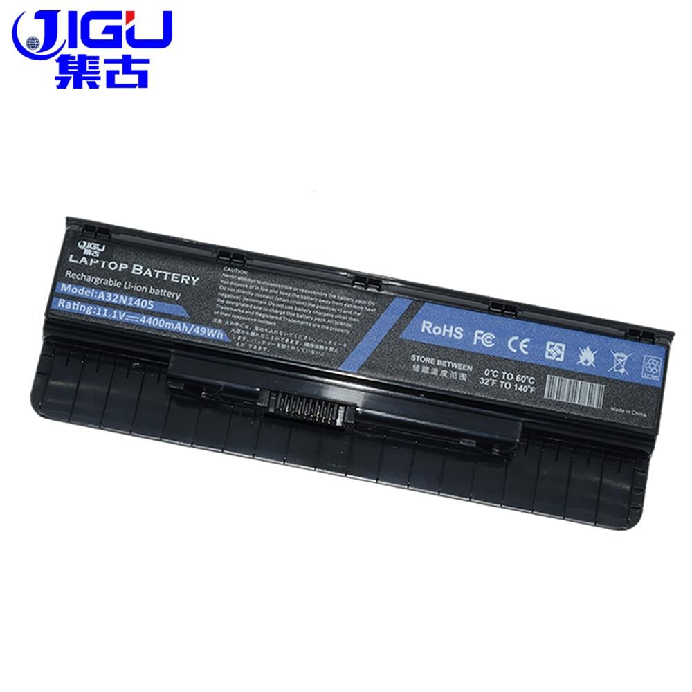 JIGU 6CELLS Laptop Battery A32LI9H A32N1405 A32N14O5 For ASUS G551 G551J G551JK G551JM G551JW G58JM G771 N751JK N551VW N751