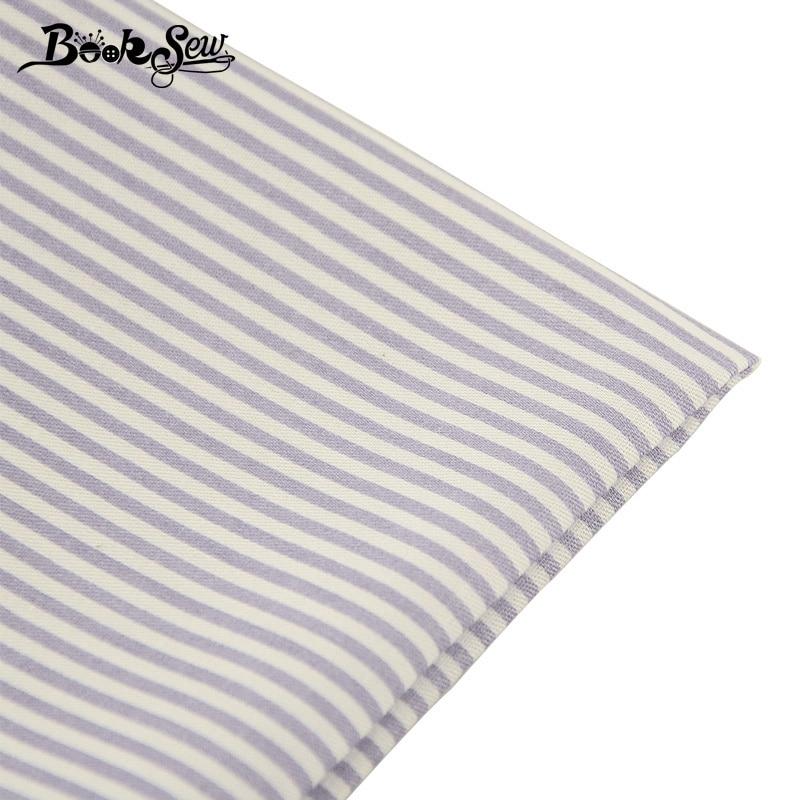 Tela de sarga de algodón 100% con diseño de tiras grises, tela textil para el hogar, Sábana acolchada para bebé DIY, Patchwork, muñeca artesanal CM