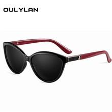 Oulylan Brand Design Cat eye Women Sunglasses Polarized Female Sun Glasses Vintage Style Shades Glasses