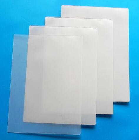 Precio al por mayor y alta calidad A3/310X430mm película de laminación foto papel 7c espesor (100 hojas/bolsa)