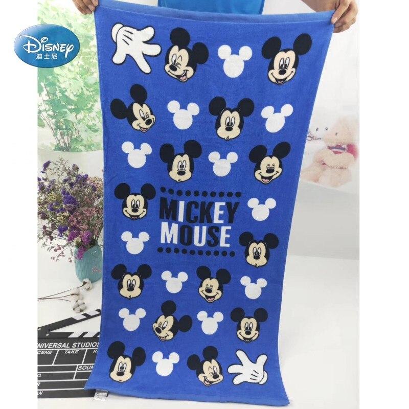 Descuentos Mickey Minnie Mouse Rapunzel Ariel cobija de princesa Toalla de baño 60x120cm para niños niñas clases de natación 3-15 años