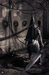 01 тихий Холм-пирамида голова игры 14