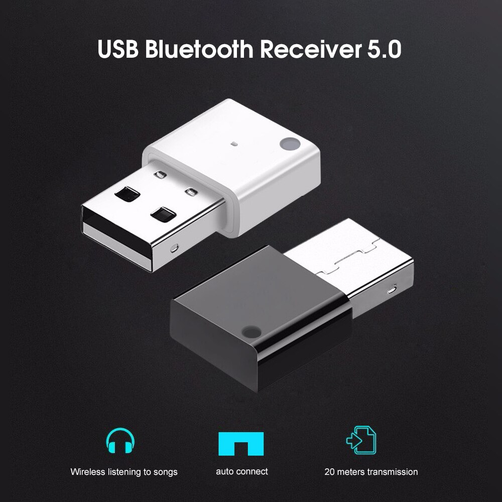 Kebidu USB Bluetooth Adapter 5,0 Hohe Geschwindigkeit Stabilit Auto Radio Subwoofer Verstärker Multimedia Audio Adapter Bluetooth Empfänger