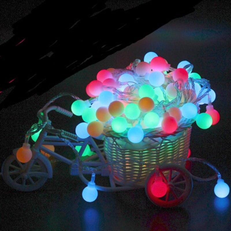 10 м 100 светодиодов Строка огни 220 В Новогодние товары Свадебная вечеринка Огни