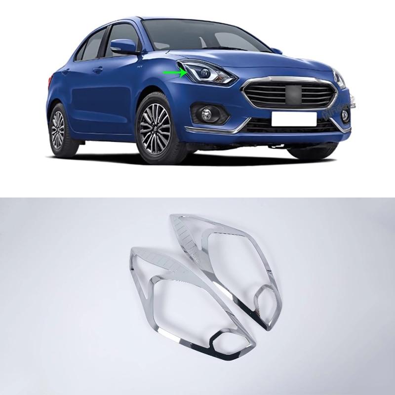 OUBOLUN ABS, accesorios para coches, kits de carrocería de coche, cubierta de faro para suzuki swift hatchback 2017 2018 2019, sedán swift