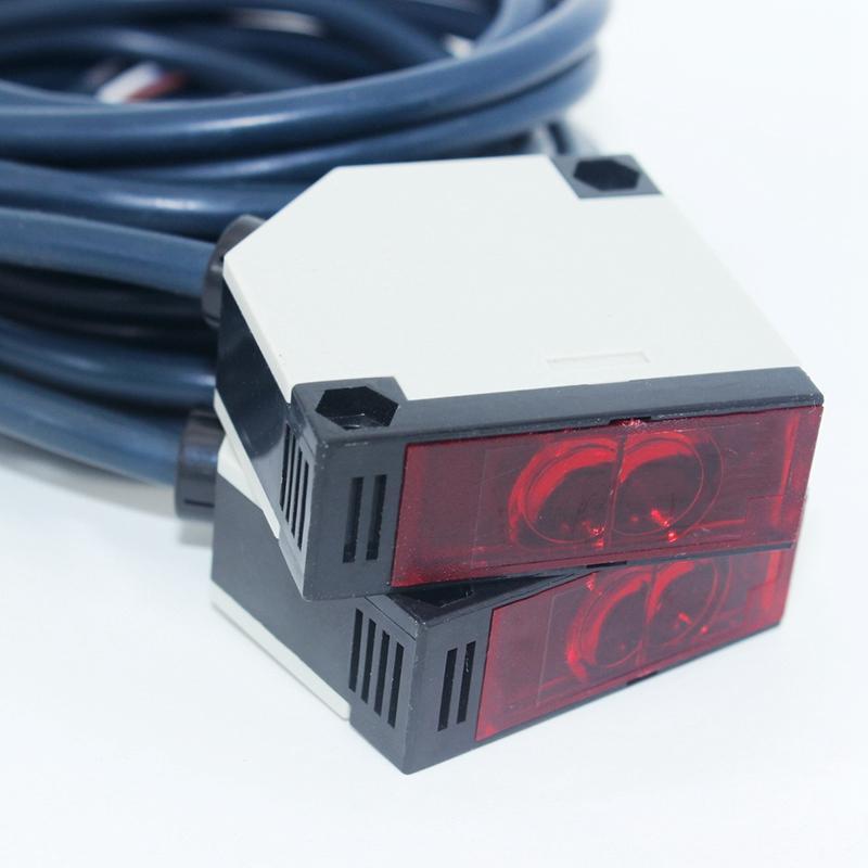 Um conjunto de 20-500cm 90-250 v ac n/o n/c E3JK-5DM1 optoelectronic interruptor sensor de proximidade