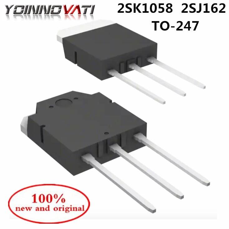 2SJ162 2SK1058 2SJ162 K1058 J162 TO-247 tubo contador audible de alta potencia (1 par) 100% nuevo y original