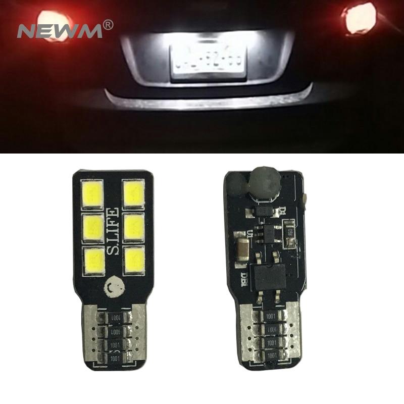 2x Canbus Led T10 Cob лампочка для Suzuki Swift Jimny Liana Wagon Alto GRAND VITARA