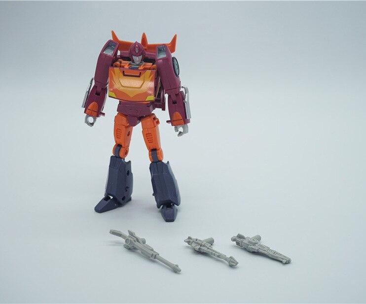Figura de Anime transformación de película PaPa juguetes PPT-04 figura de acción para niños