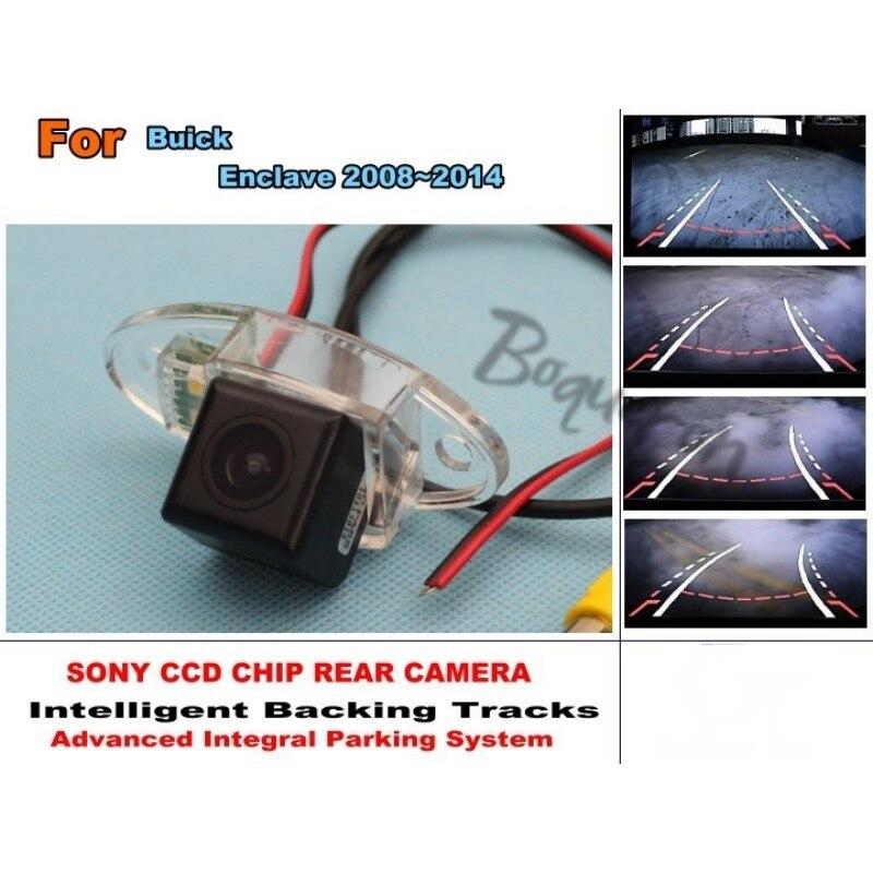 Para Buick Enclave 2008 ~ 2014 coche inteligente estacionamiento pistas cámara/HD cámara trasera/Vista trasera cámara