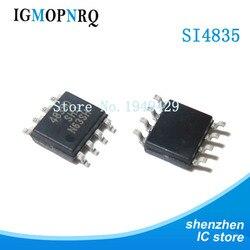 5 pçs/lote SI4835BDY SI4835B 4835B SOP8 MOSFET(Metal Oxide Semiconductor Campo Efeito Transistor) novo