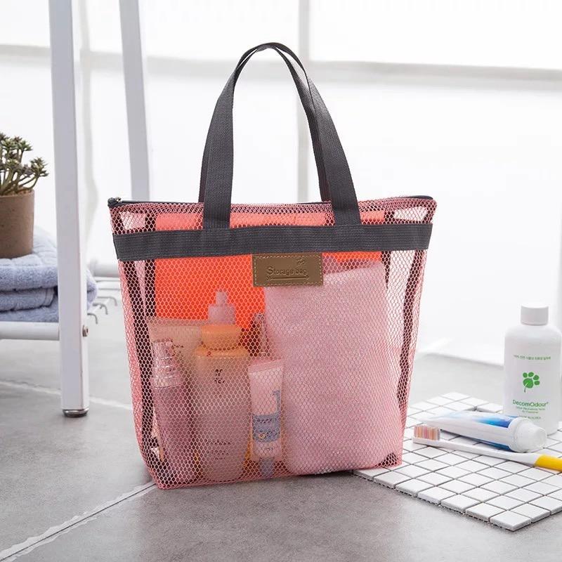 Bolsas de almacenamiento para Bebés Mamá, bolsa de playa de malla de separación en húmedo seco, bolsa de almacenamiento de ropa de viaje, bolsa de Fitness deportiva