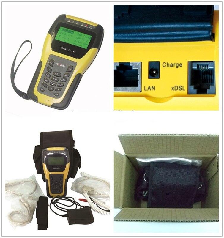 Probador ST332B VDSL2 de envío gratis para herramientas de mantenimiento y prueba de línea xDSL (ADSL/ADSL2/ADSL2 +/VDSL2/READSL)