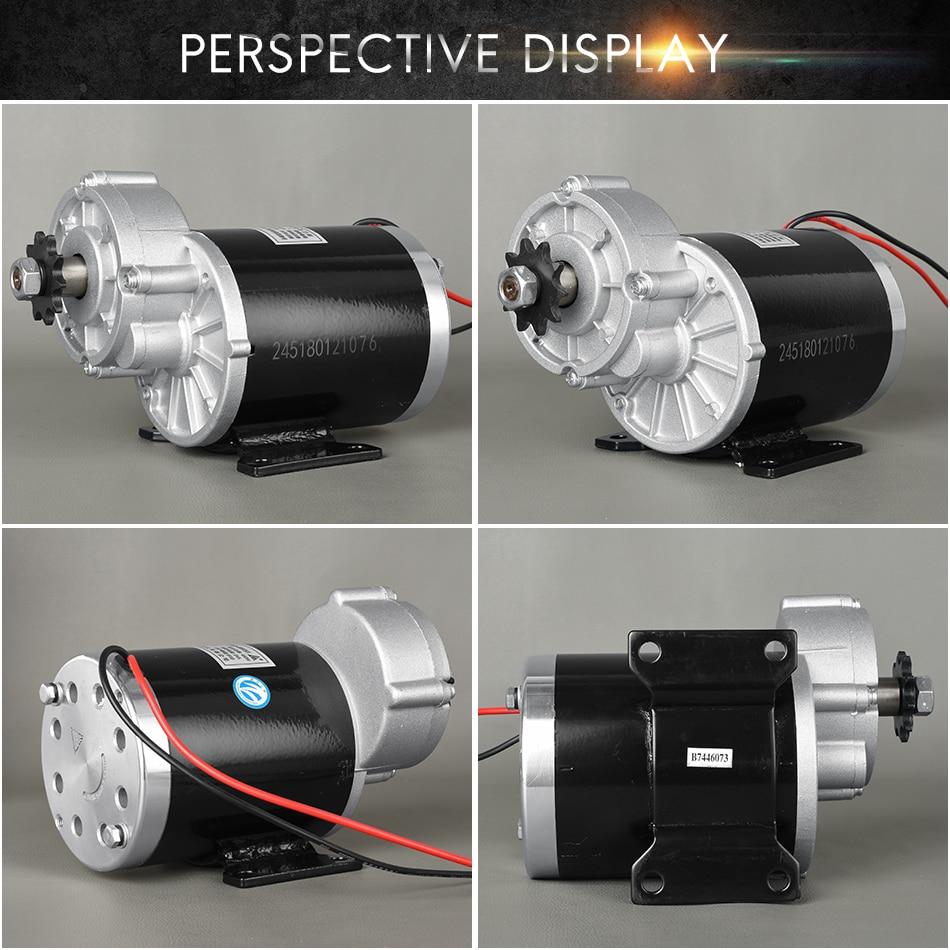 UNITEMOTOR, Kit de Motor eléctrico de cepillo de CC MY1020Z 450W 24V 36V 48 V, triciclo de desaceleración de engranajes, motocicleta, Quad, accesorios de coche, ciclo