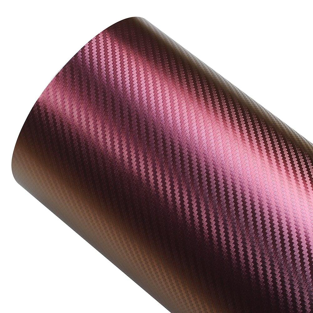 Auto camaleón pegatina 500mm * 1,52 M coche PVC Color púrpura película pegatinas decoración del hogar Películas