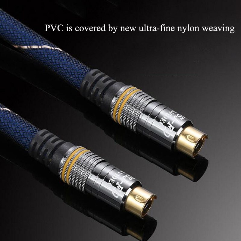 Hohe Qualität Video Linie S Video 4pin 4P Stecker auf Stecker M / M s-vedio Kabel TV heraus Video Für TV HDTV DVD VCR LCD