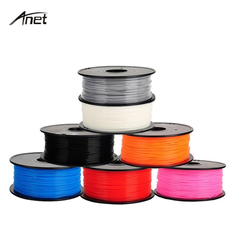 Нить для 3D-принтера ABS PLA, 1 кг, 1,75 мм, пластик, резина, материал для 3D-принтера/3d-ручки/Reprap/Makerbot