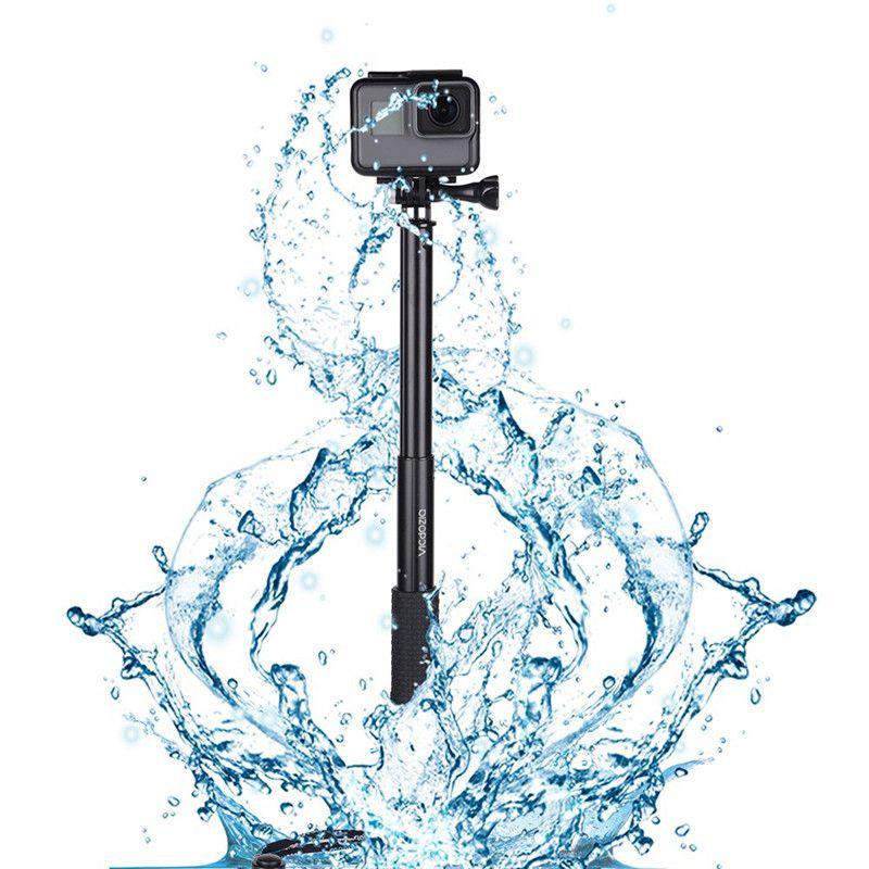 Selfie Stick Waterproof Hand Grip Extendable Monopod Adjustable Pole  Handle For GoPro Hero 7 6 5 4 Session SJCAM AKASO Xiaomi