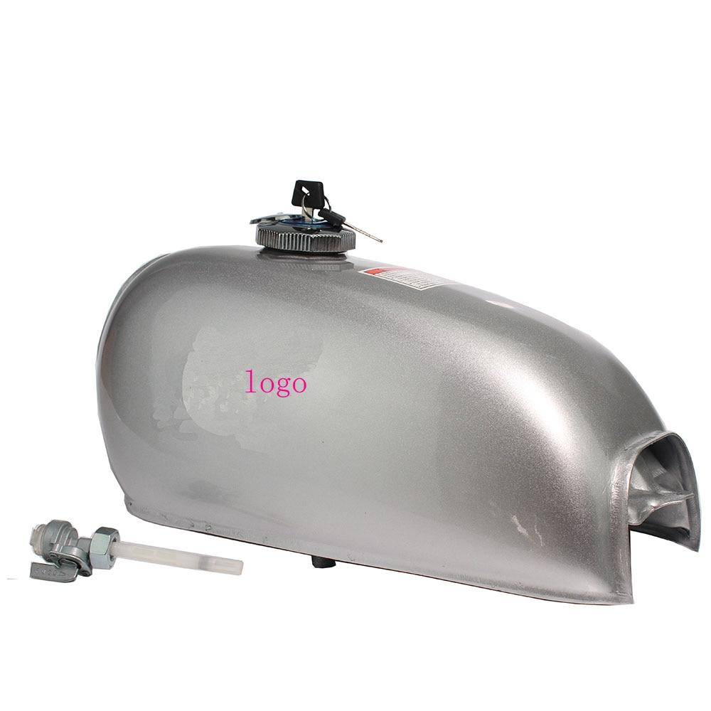 Tanque de gasolina Universal para motocicleta astilla 6L Gal capacidad Dominator Gas para tanque retro Cafe Racer Honda Jialing70